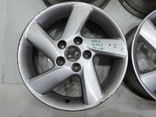 Felga Felgi Aluminiowe 16 Mazda6 Mazda 6 Inowroclaw Allegro Pl