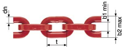 Łańcuch zrywkowy do zrywki, kwad. G8 8mm x 2,0m