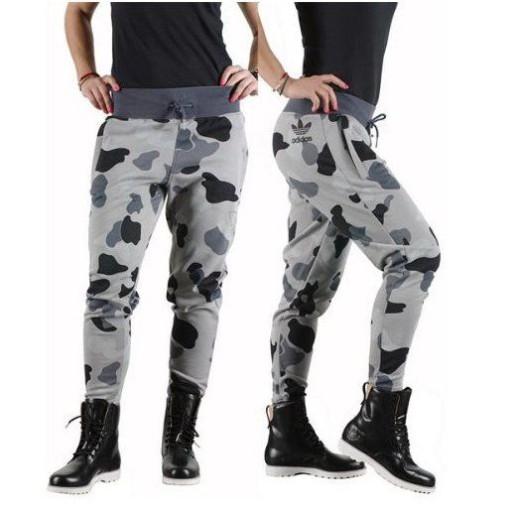 Adidas Originals Damskie Spodnie Moro Kamuflaż 34 Ceny i