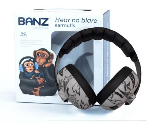 Nauszniki słuchawki ochronne dla Dzieci 0+Banz