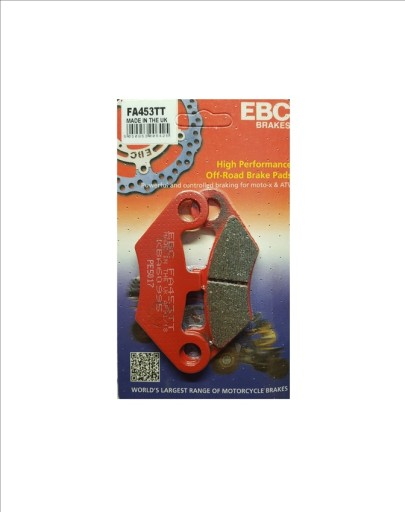PADS BRAKE FRONT STRENGTHENED EBC CF MOTO 800