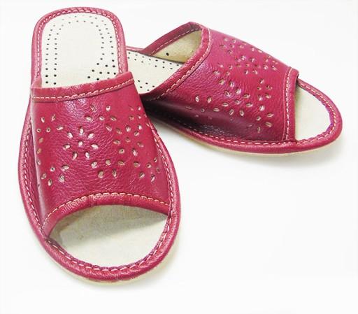 3875e91e09d07 KAPCIE laczki Tanie pantofle DAMSKIE Bordowe 42 6874566864 - Allegro.pl -  Więcej niż aukcje.