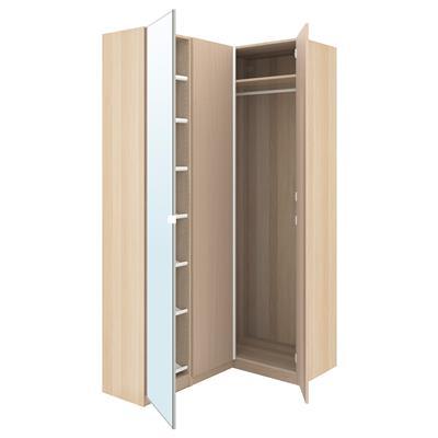 Ikea Pax Szafa Narożna Dąb Bejc 16088x236cm