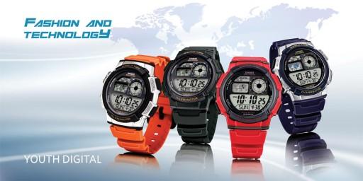 ae-1000w-4a zegarek casio allegro