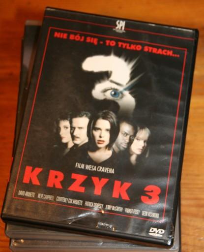 KRZYK 3      SCREAM 3      DVD