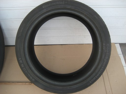 OPONY CONTINENTAL SPORTCONTACT 265/40/21  6mm