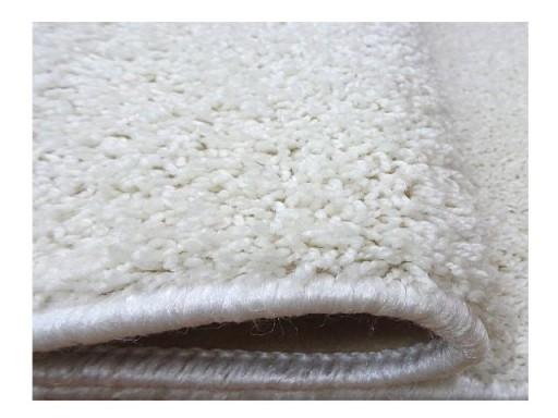 Biały Dywan Shaggy Do Kościoła 200x250 2x25 Salon