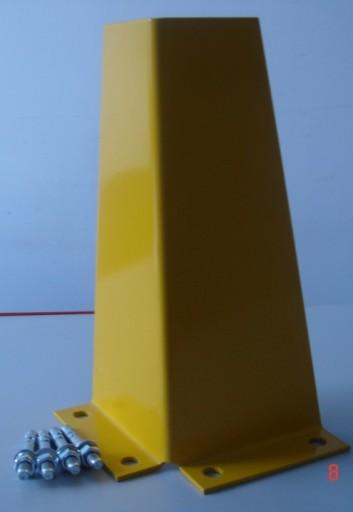 Ochraniacz narożny słupa z kotwami regał paletowy