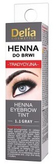 5906750813059 DELIA HENNA DO BRWI 1.1 GRAY 2ML 8129944680