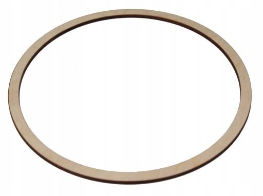 Drewniana Obręcz kółko Okrąg do łapacza snów 44cm