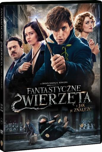 Fantastyczne Zwierzeta I Jak Je Znalezc Film Dvd 8162246828 Allegro Pl