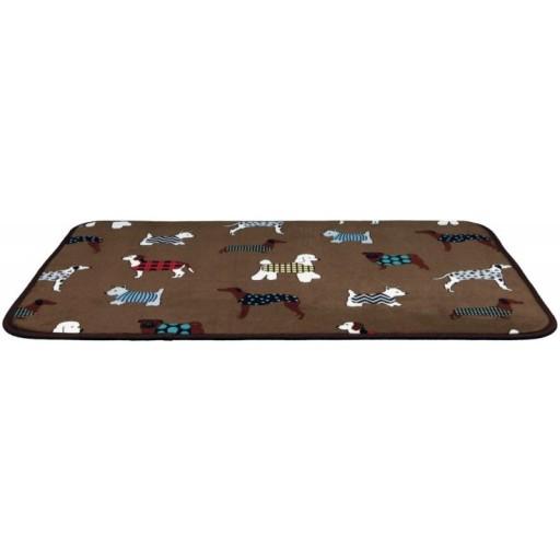 Trixie Legowisko Fundogs 90x68 cm brązowy