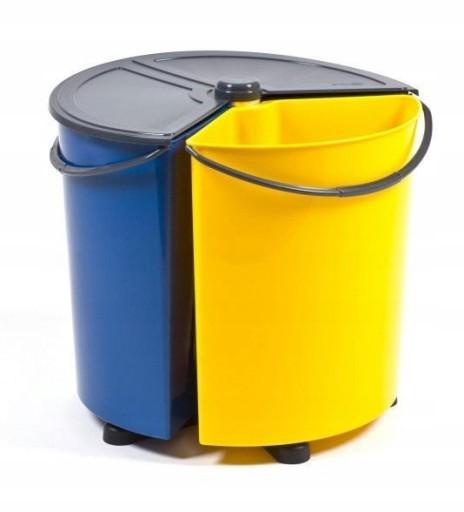 Kosz Pojemnik do Segregacji śmieci odpadów