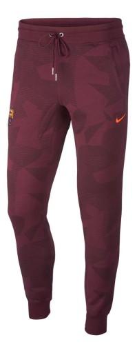 Spodnie dresowe Nike FC Barcelona RED 9773658994 Odzież Męska Spodnie TK UQQETK-7