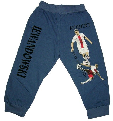 ROBERT LEWANDOWSKI spodnie dresowe DRES dresy 86