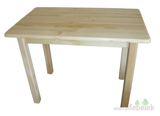 stół sosnowy kuchenny do jadalni 120x60 [ 7 ] NOWY