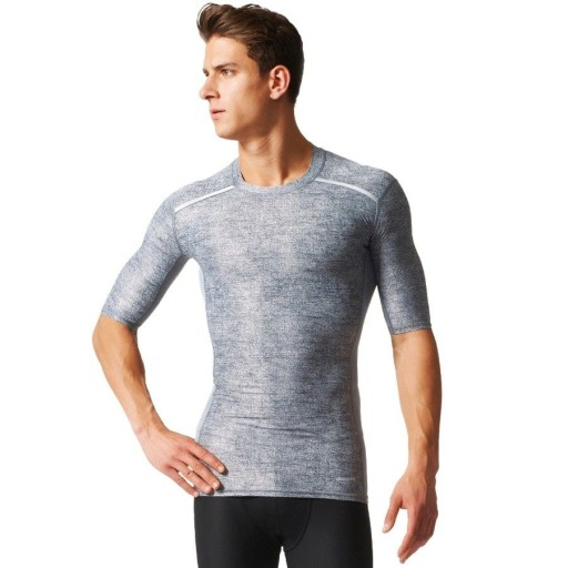 Koszulka adidas Techfit Chill Short Sleeve Tee M