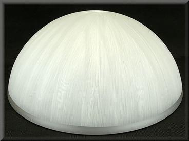 Klosz szklany duży 30cm do żyrandoli,lamp,E27