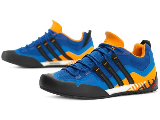 Buty sportowe męskie Adidas Performance terrex wiązane ze