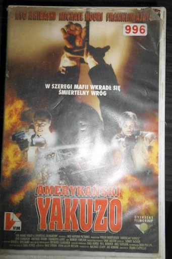 Amerykański Yakuzo - VHS kaseta video