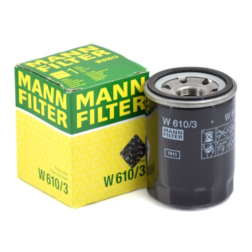 Filtr Oleju MANN W610/3 do FIAT, HONDA ACCORD