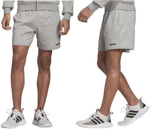 szorty męskie adidas bawełna