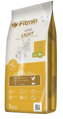 Karma Dla Psa Fitmin Dog Mini Light 400g