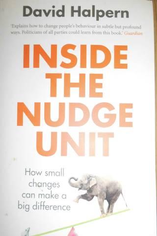 Inside the nudge unit - David Halpern