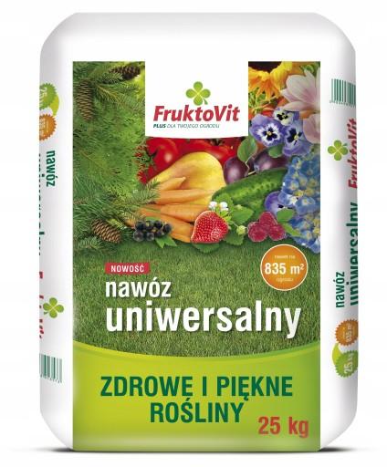 Fruktovit Nawoz Uniwersalny Wiosenny Warzywa 25kg 7906492842 Allegro Pl
