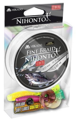Mikado Nihonto Fine Braid 0,06mm 150m White Biała