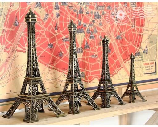 2884b954381ea 25CM WIEŻA EIFFLA PARYŻ PARIS EIFFEL TOWER FIGURKA 6218000561 - Allegro.pl