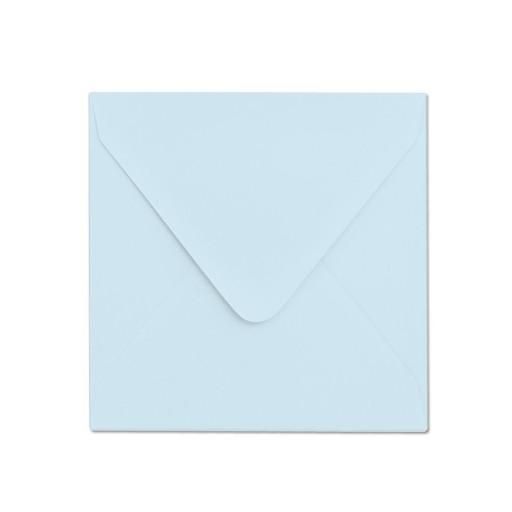 Koperta ozdobna 155x155 błękitna - 10szt.