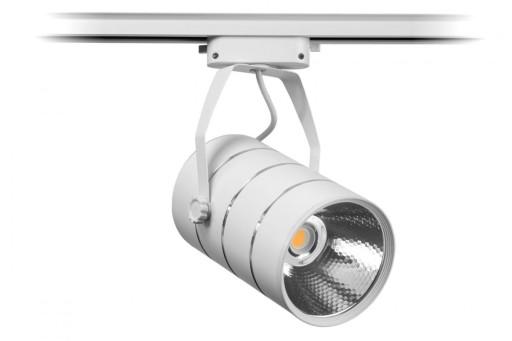 Lampa do sklepu odzieżowego szynowa LED 30W zimna