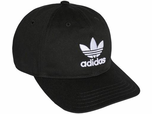ADIDAS Originals czapka z daszkiem TREFOIL czarna