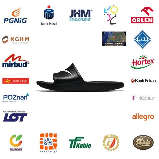 Klapki Nike Kawa Shower Sandal M 36,5 10732372375 Obuwie Męskie Męskie BC TYQFBC-2