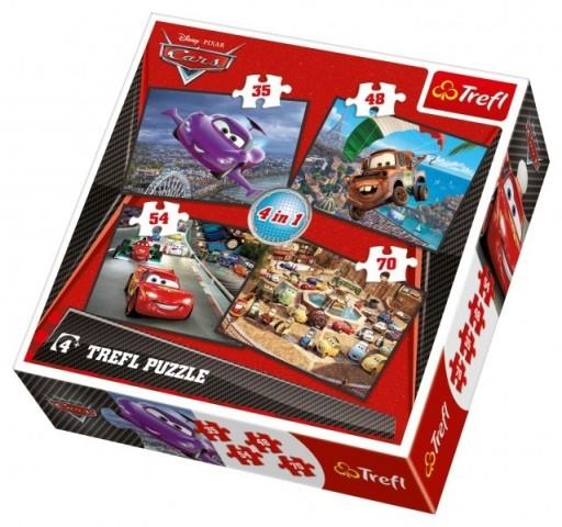 Wyruszymy w podróż - Puzzle 4w1 TREFL 34107