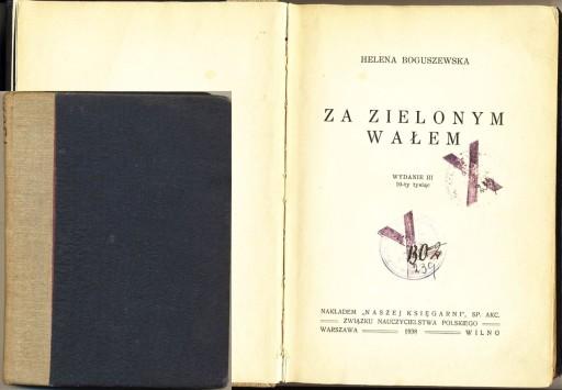 Za zielonym wałem 1938 Boguszewska