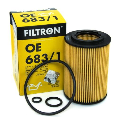 FILTRON Filtr Oleju OE683/1 do Honda S Accord CRV