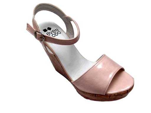 Sandały na koturnie ZALANDO super cena A1 41