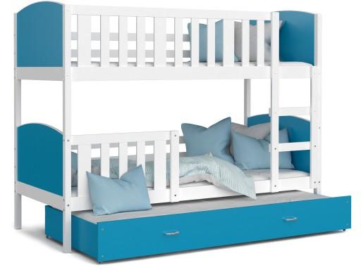 łóżko Piętrowe Dla Dzieci Tami 3 Osobowe Kolory