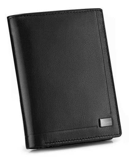 ff8163bcc5f71 Skórzany portfel męski Zagatto ochrona kart RFID 6612758987 - Allegro.pl