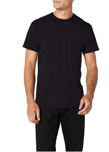 Koszulka T-shirt Fruit of The Loom HEAV Black XXXL