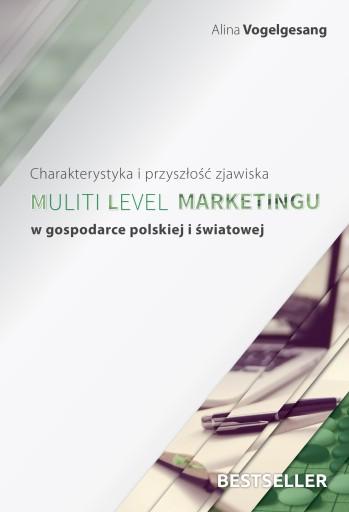 Bestseller o MLM- dr A. Vogelgesang z autografem