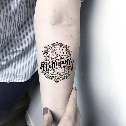 Tatuaż Harry Potter Hufflepuff Hermiona Hogwart Pl