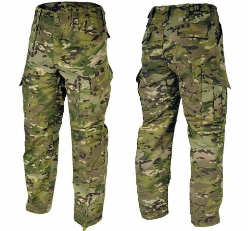 SPODNIE WOJSKOWE RIP STOP WZ10 TEXAR MC CAMO XL 8876848672 Odzież Męska Spodnie QD RSKKQD-2