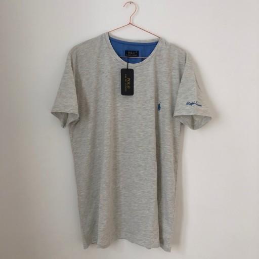 Nowa Szara Koszulka Polo Ralph Lauren M Xl Tk Maxx