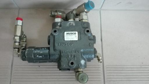 Husco D08E445 rozdzielnia hydrauliczna zawór płyta