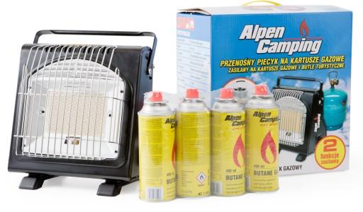 Купить Альпен кампин плюс кемпинговая газовая плита : отзывы, фото и характеристики на Aredi.ru