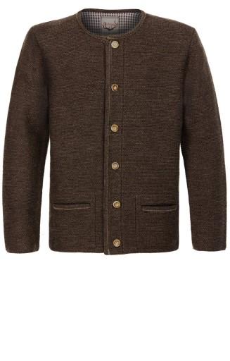 Bawarski sweter rozpinany STOCKERPOINT Wełna 56 9684210821 Odzież Męska Swetry WJ UHMFWJ-1