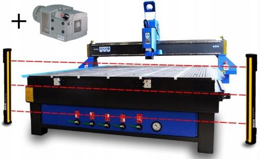 Frezarka CNC ploter 2130 GRAWERKA 6kW HYBRYDA